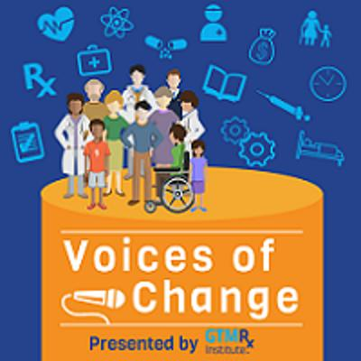 Cover art for Voices of Change: Julie England and her patient Mike