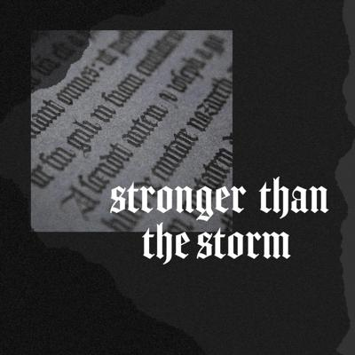 Cover art for Stronger than the Storm - Words and Works of Jesus series - part 2