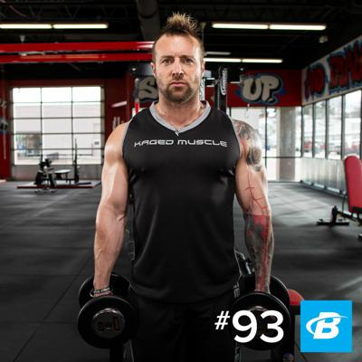 Cover art for Episode 93 - Kris Gethin Found a New Form of Intensity Training from Home