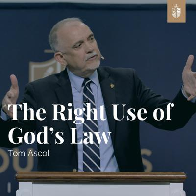 Cover art for The Right Use of God's Law | Tom Ascol