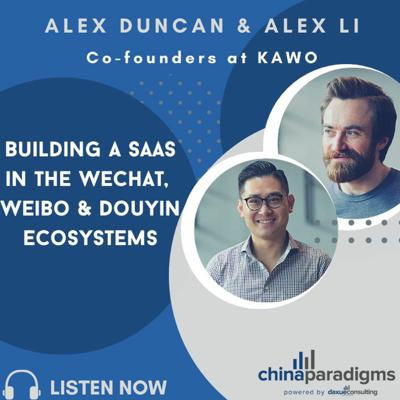 Cover art for Ep 109: building a SaaS in the Wechat, Weibo & Douyin ecosystems