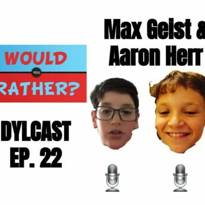 Cover art for Dylcast ep. 22 w/ Aaron Herr & Max Geist about NBA Would You Rather
