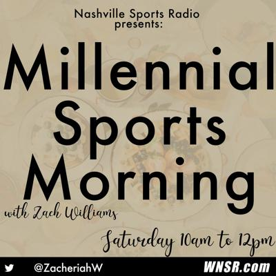 Cover art for Millennial Sports Morning 8 - 29 - 2020