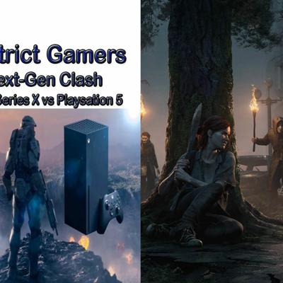 Cover art for District Gamers Podcast S2E2: Next-Gen Clash