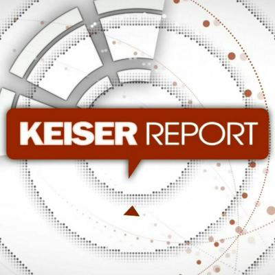 Cover art for Keiser Report: We have a winner!