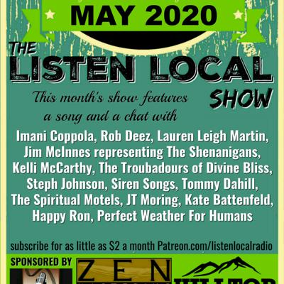 Cover art for May 2020 Listen Local Show