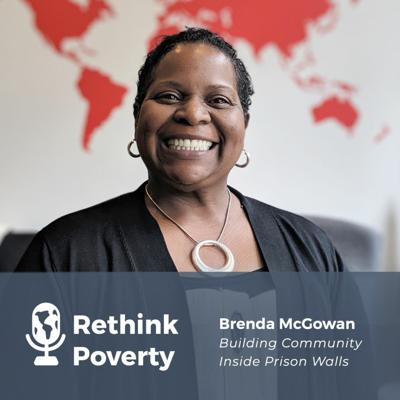 Cover art for Building Community Inside Prison Walls: Interview with Brenda McGowan