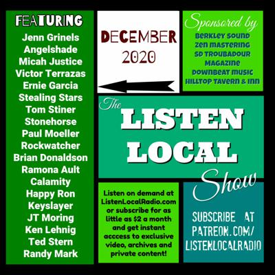 Cover art for December 2020 Listen Local Show
