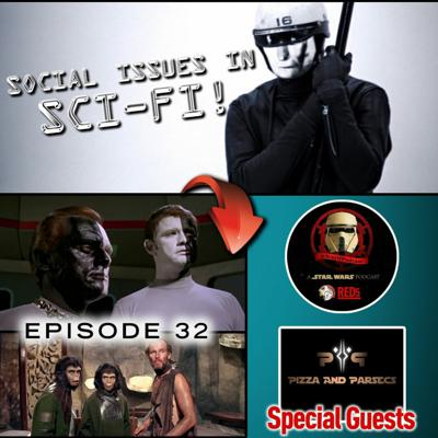 Cover art for Episode 32 Social Issues In Sci Fi