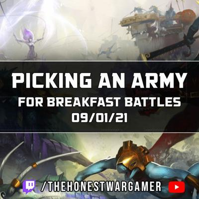 Cover art for Picking A New Army for Breakfast Battles