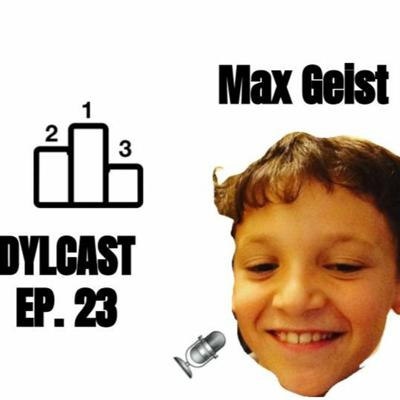 Cover art for Dylcast ep. 23 about ranking the starting 30 PGs in the NBA! w/ Max Geist