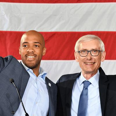 Governor Tony Evers & Lt. Governor Mandela Barnes