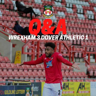 Cover art for LIVE Q&A | Wrexham 3 Dover Athletic 1