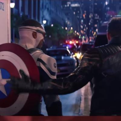 Cover art for A BizzleCast Politique: FALCON AND THE WINTER SOLDIER was a radical political manifesto