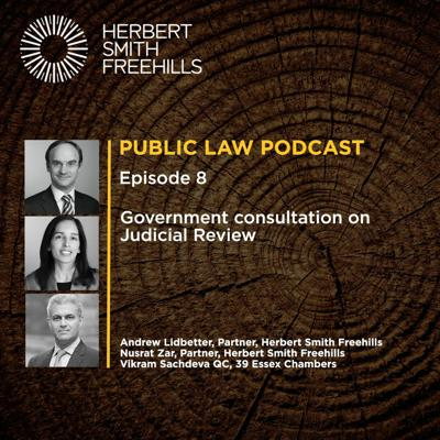 Cover art for Public Law Podcast EP8: Government Consultation on Judicial Review