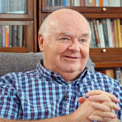 Cover art for Podcast: Ep. 28: John Lennox, PhD – Encouraging Christians to Stand Against the Tide