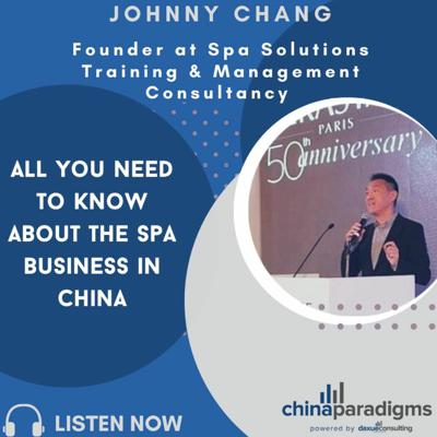 Cover art for Ep 107: All you need to know about the spa business in China