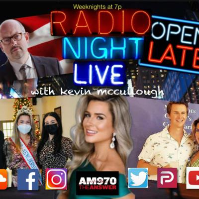Cover art for 20210122- Mrs. New Jersey Kristina Henderson And Husband Bart Join Radio Night Live