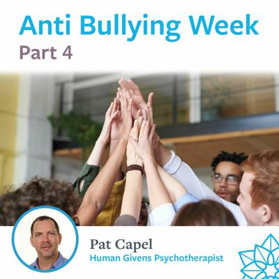 Cover art for Part 4 - Anti-Bullying Week - Pat Capel