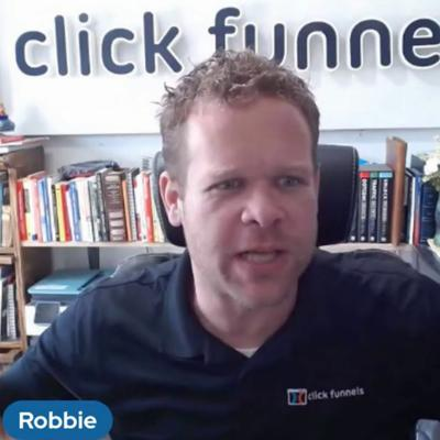 Cover art for Episode 357 - Interview With Robbie Summers! #ClickFunnels #Sales