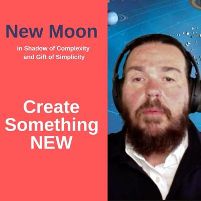 Cover art for 🚀 New Moon - Create Something New - Gift of Simplicity
