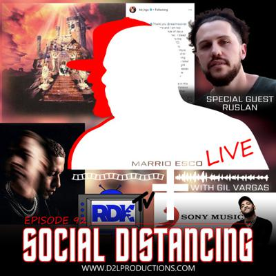 Cover art for Social Distancing