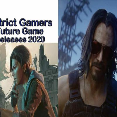 Cover art for District Gamers Podcast S2E5: Future Game Releases 2020