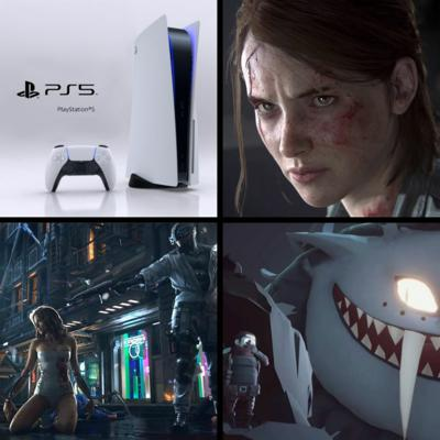 Cover art for EP 42 - PS5, Last of Us 2, Cyberpunk 2077, Spider-Man: MM, Little Devil Inside, Pokemon Snap & more!
