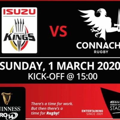 Cover art for Southern Kings away preview - Craggy Rugby podcast Connacht coverage S5E35