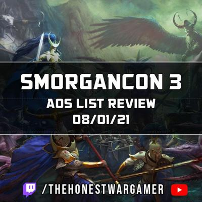 Cover art for Smorgancon 3 Age of Sigmar List Review
