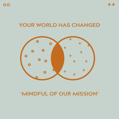 Cover art for Mindful Of The Mission - part one of 'the world has changed' series