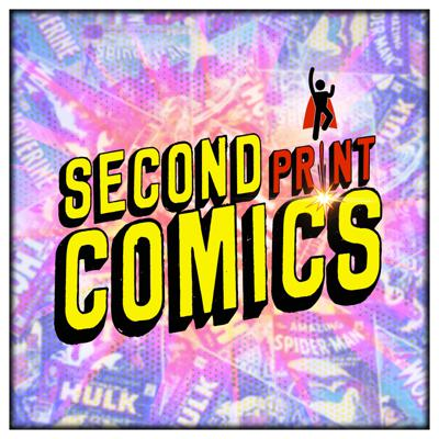Cover art for Second Print Comics Patreon Preview - Loki Ep. 1