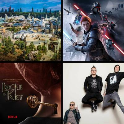 Cover art for Threadcast EP 40 - Star Wars: Galaxy's Edge, Jedi: Fallen Oder, Locke and Key, Blink 192