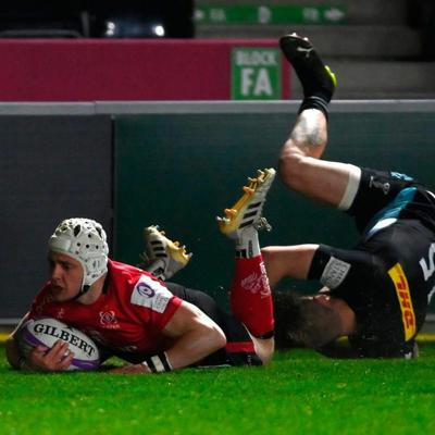 Cover art for What did Ulster learn from Quins mauling and a quarter date with the Saints