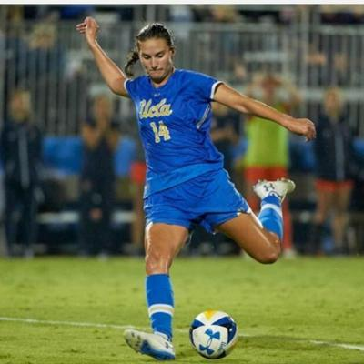 Cover art for Bruin Back Heel Interviews Olivia Athens of UCLA WoSoc
