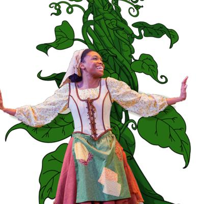 Cover art for AUDIO FOOTLIGHTS: Jacqueline and the Beanstalk Edition