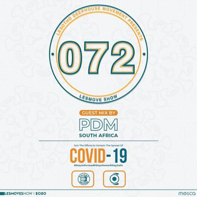 Cover art for LesMove shOw #072 Guestmix by PDM (DIM, South Africa)