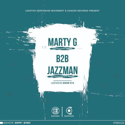 Cover art for LesMove - shOw #074 B2B Session by Marty G & Jazzman (Germany)