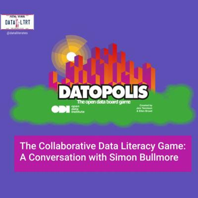 Cover art for The Collaborative Data Literacy Game: A Conversation with Simon Bullmore
