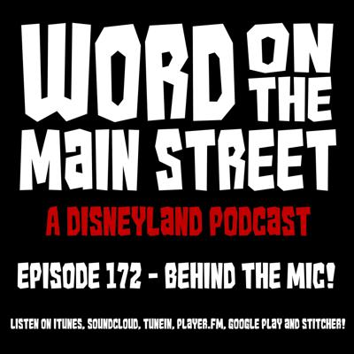 Cover art for Episode 172 - Behind the Mic!