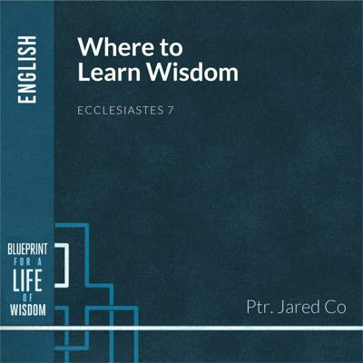 Cover art for Where to Learn Wisdom