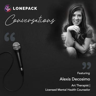Cover art for The Alternative Therapy Series: Art Therapy ft. Alexis Decosimo