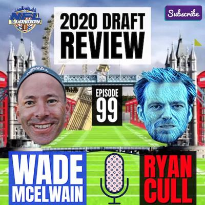 Cover art for NFL Draft Review-Ep 99