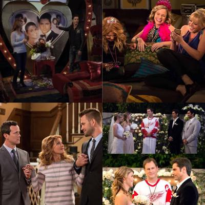 Cover art for Fuller House: S1E13: Love Is In The Air (Jesse & Becky: A Love Story Series)