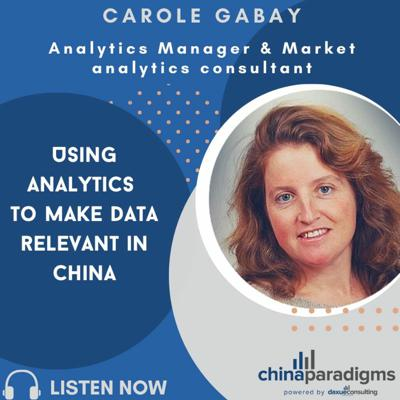 Cover art for Ep 111: Using analytics to make data relevant In China