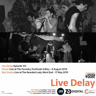 Cover art for Live Delay - Ep 331 - Clever and Star Slushy