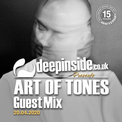 Cover art for ART OF TONES is on DEEPINSIDE #02