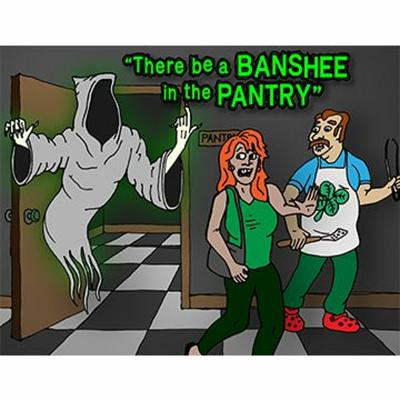 Cover art for There Be a Banshee in the Pantry