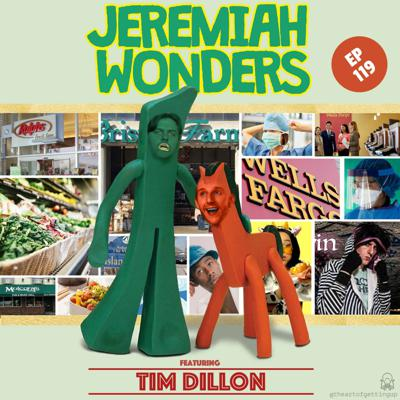Cover art for JW Ep 119 - Tim Dillon