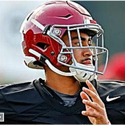 Cover art for Bryce Young #13 on Top 50 QB list, Nick Saban excited about 2021 team, Malachi Moore vs Brian Branch
